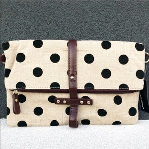New Polka Dot Clutch And Shoulder Bag